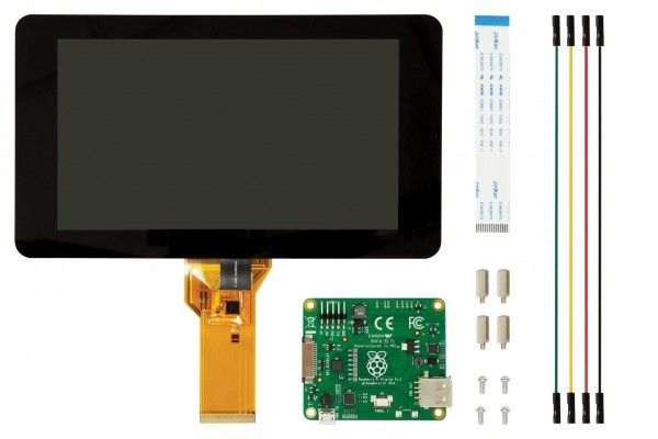 razvojni dodatki RASPBERRY PI Raspberry Pi 7 inch Touch Screen Display with 10 Finger Capacitive Touch, RASPBERRYPI-DISPLAY