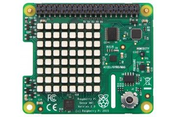 razvojni dodatki RASPBERRY PI Raspberry Pi Sense HAT with Orientation, Pressure, Humidity and Temperature Sensors, RASPBERRYPI-SENSEHAT