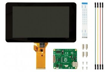 Raspberry Pi 7 inch Touch Screen Display with 10 Finger Capacitive Touch, RASPBERRYPI-DISPLAY