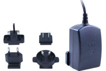 kabli RASPBERRY PI 5.1 V dc, Micro USB, 2.5 A Official Raspberry Pi 3 Black Power Supply, T5989DV