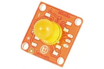 tinkerkit moduli ARDUINO TinkerKit LED 10mm Yellow, Arduino T010117