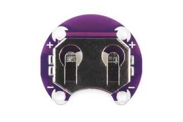 battery holders SPARKFUN LilyPad Coin Cell Battery Holder - 20mm, Sparkfun, DEV-10730