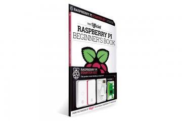 knjige RASPBERRY PI RASPBERRY PI BEGINNERS BOOK, WITH ZERO W, ENCLOSURE, ADAPTERS, SD CARD