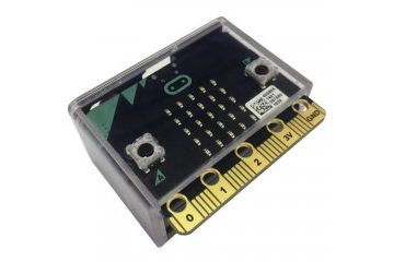 micro bit MULTICOMP BBC Microbit Dev Board Enclosure, HIPS, Black, Clear Lid, MC001566