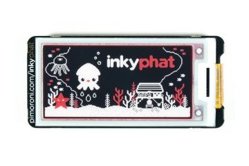 displays, monitors PIMORONI Red-Black-White – Inky pHAT (ePaper-eInk-EPD), Pimoroni PIM299
