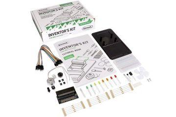 micro bit KITRONIK Inventor's Kit, For the micro:bit, Edge Connector LEDs,  LDR, Buzzer, Kitronik 5603
