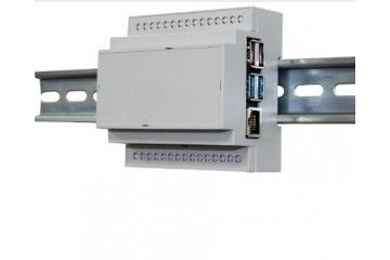 ohišja MULTICOMP RASPBERRY PI 4B ENCLOSURE, DIN RAIL, PC, GRY, Multicomp MP001137, 3243145