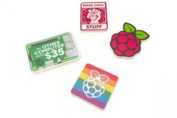 raspberry-pi RASPBERRY PI Raspberry pi Stickers pack 4 types, SC0537