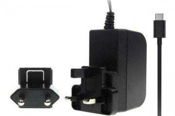 kabli STONTRONICS Power Adapter, Raspberry Pi 4 Model B PSU, 5.1 V, 3A, USB-C, UK-EU Plug, 1.5m, Stontronic T7725DV
