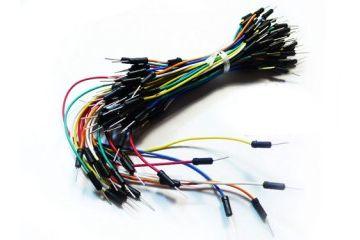 jumper wires SEED STUDIO Breadboard Jumper Wire Pack (200mm, 165mm, 125mm, 80mm), SEED STUDIO CAB110C4M