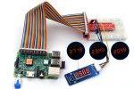 kits ADEEPT Adeept 46 Modules Ultimate Sensor Kit for Raspberry Pi 3B+, 3, 2, B+  150 Pages PDF Guidebook, Adeept ADR009
