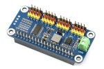 HATs WAVESHARE Servo Driver HAT for Raspberry Pi, 16-Channel, 12-bit, I2C, Waveshare 15275