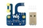 HATs WAVESHARE Pi Zero USB Adapter, Additional USB-A Connector for Zero, Waveshare 15641