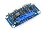 HATs WAVESHARE Motor Driver HAT for Raspberry Pi, I2C Interface, Waveshare 15364