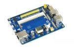 HATs WAVESHARE Compute Module IO Board with PoE Feature, for Raspberry Pi CM3 or CM3L or CM3+ or CM3+L, Waveshare 16664