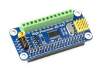 HATs WAVESHARE High-Precision AD HAT For Raspberry Pi, ADS1263 10-Ch 32-Bit ADC, Waveshare 18983