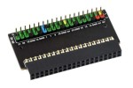 HATs WAVESHARE Raspberry Pi 400 GPIO Header Adapter, Header Expansion, Waveshare 18994