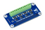 HATs WAVESHARE 4-ch Current-Voltage-Power Monitor HAT for Raspberry Pi, I2C-SMBus, Waveshare 17539
